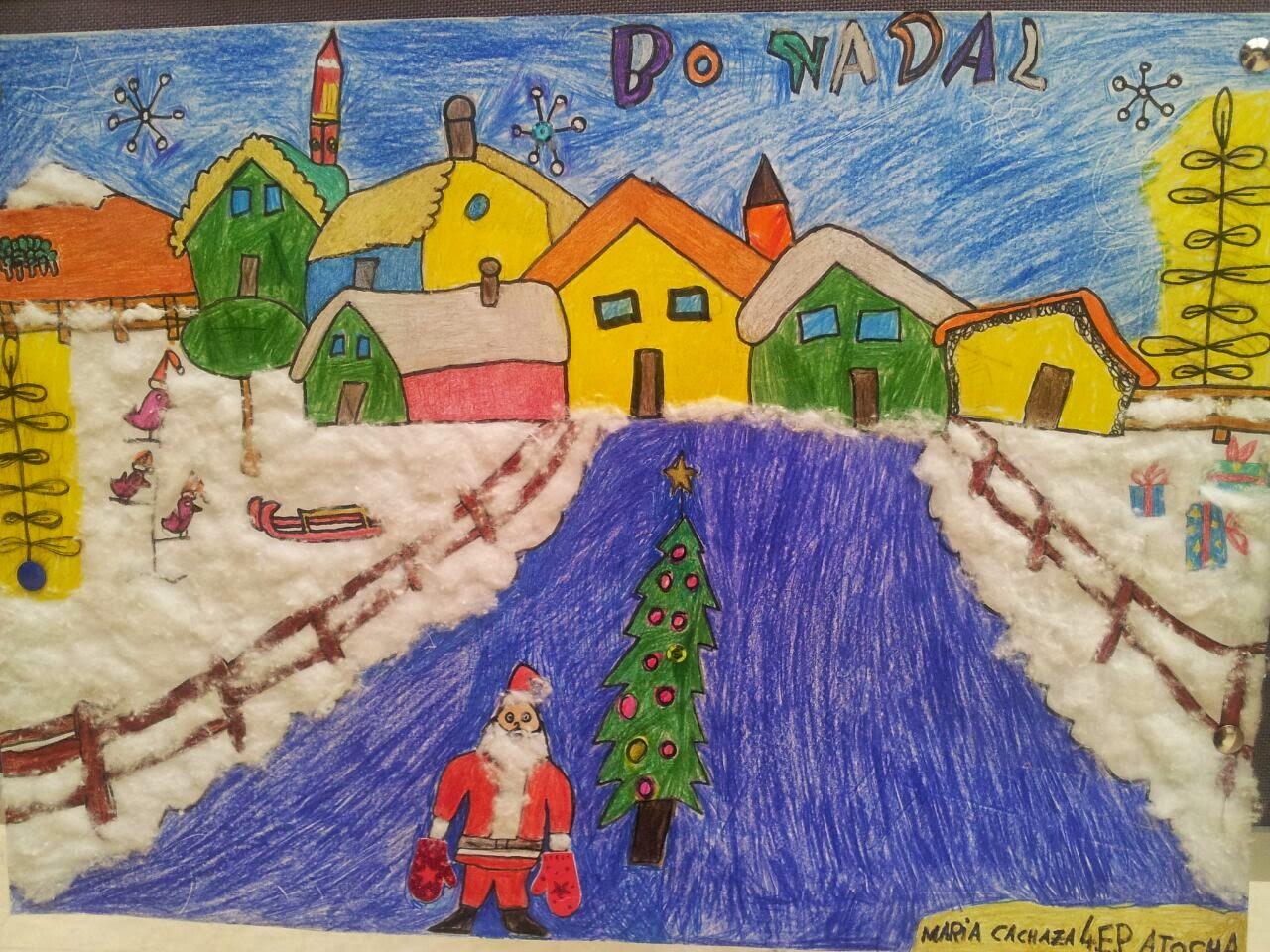 Premios carteis de Nadal do Concello