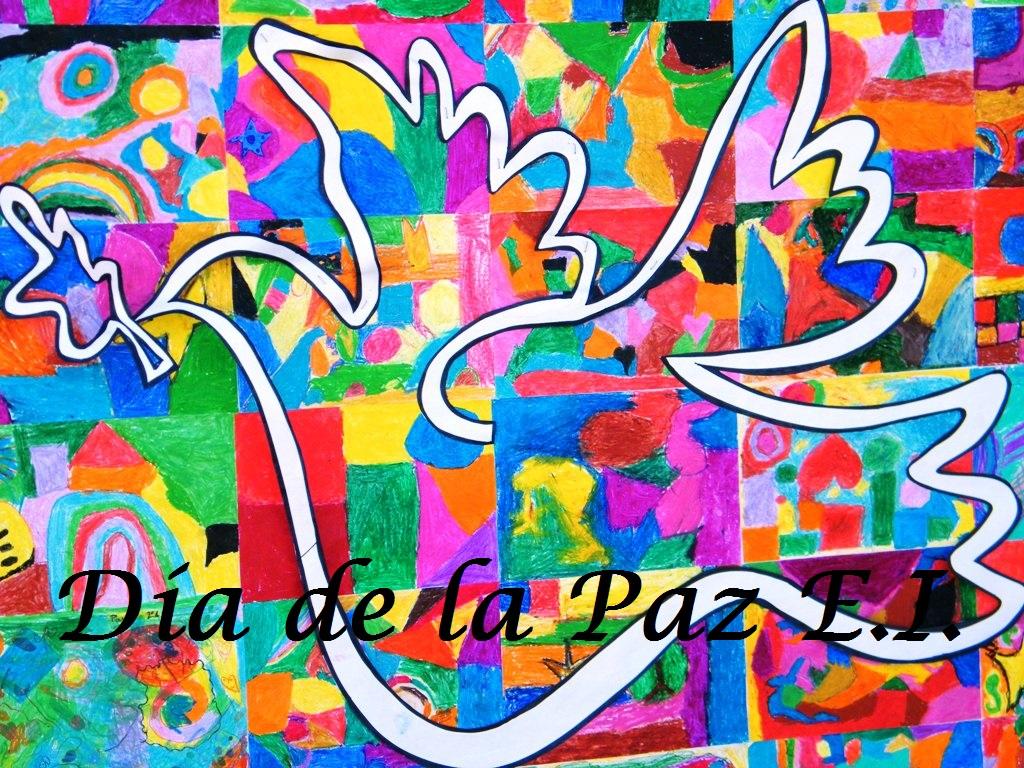 Día de la Paz niñ@s de  E.I.