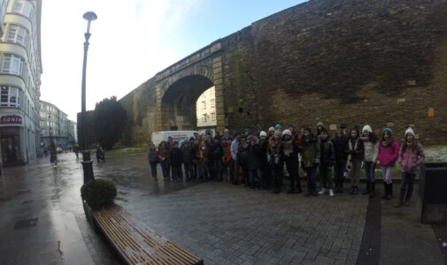 Visita a Lugo de 5º y 6º E.P.