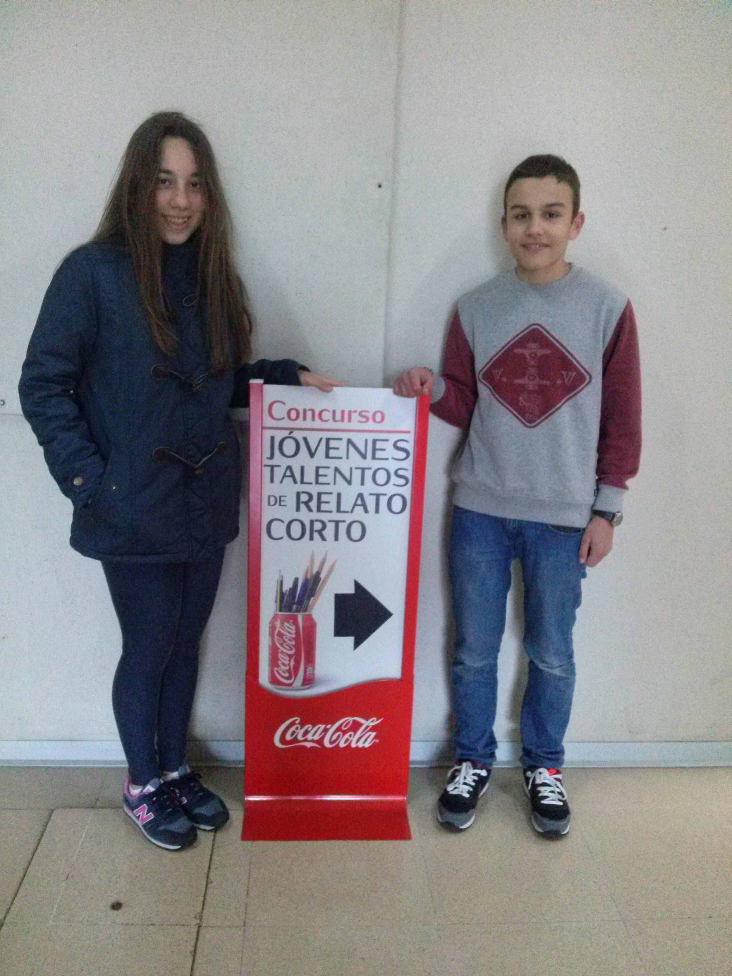 Concurso Jóvenes talentos de relato corto patrocinado por Coca-Cola