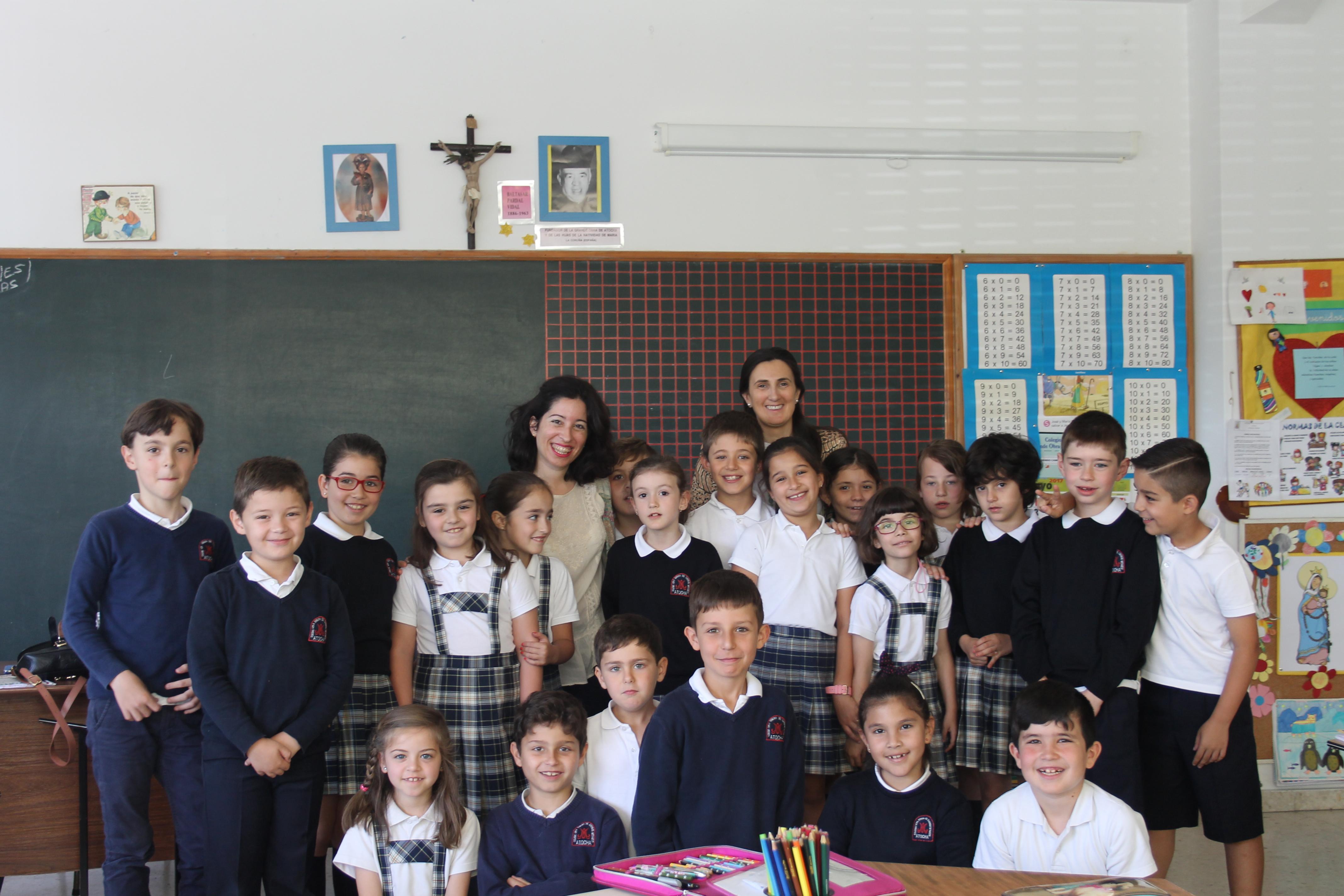 Visita de Berta Roca a 2º EP