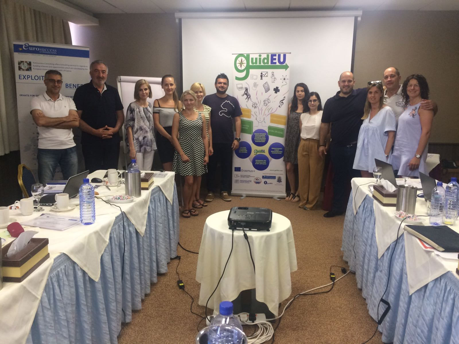 Atocha viaja a Chipre apostando por el futuro del alumnado