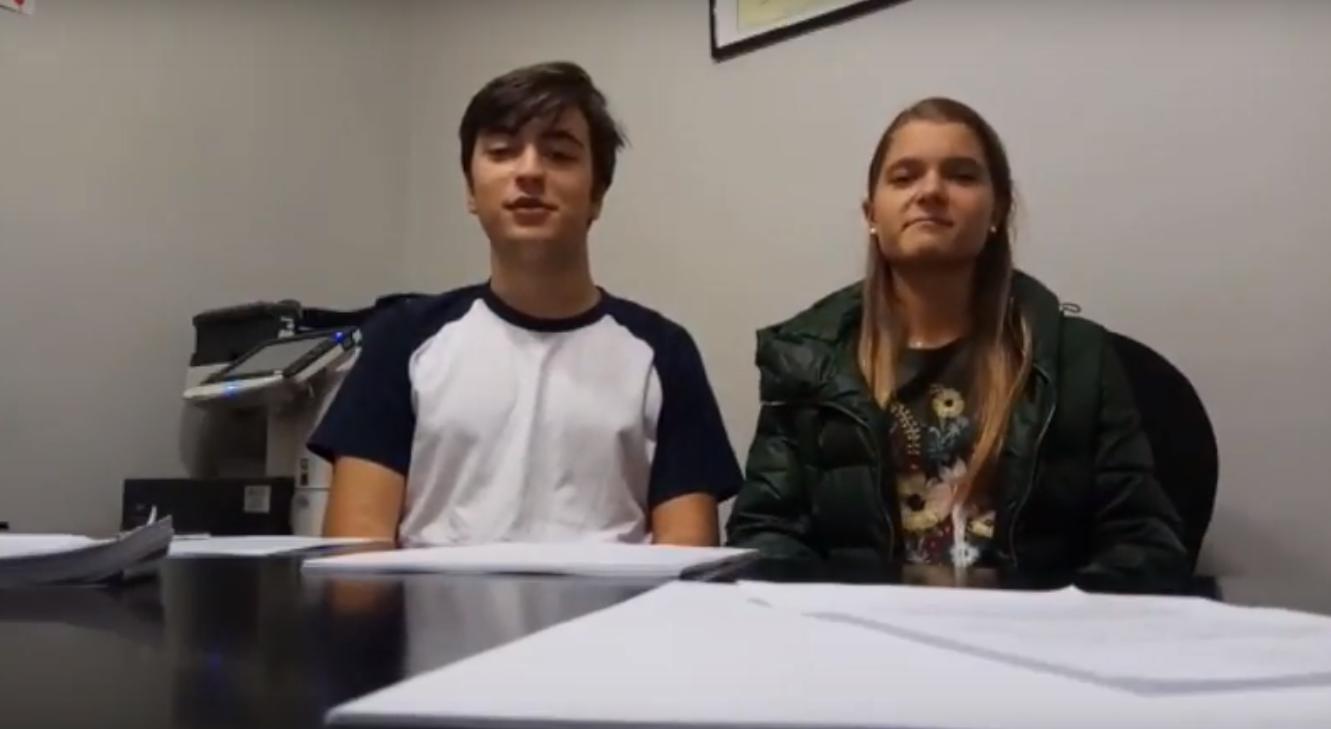 Rosalía e Pablo no Bufete Placer Abogados