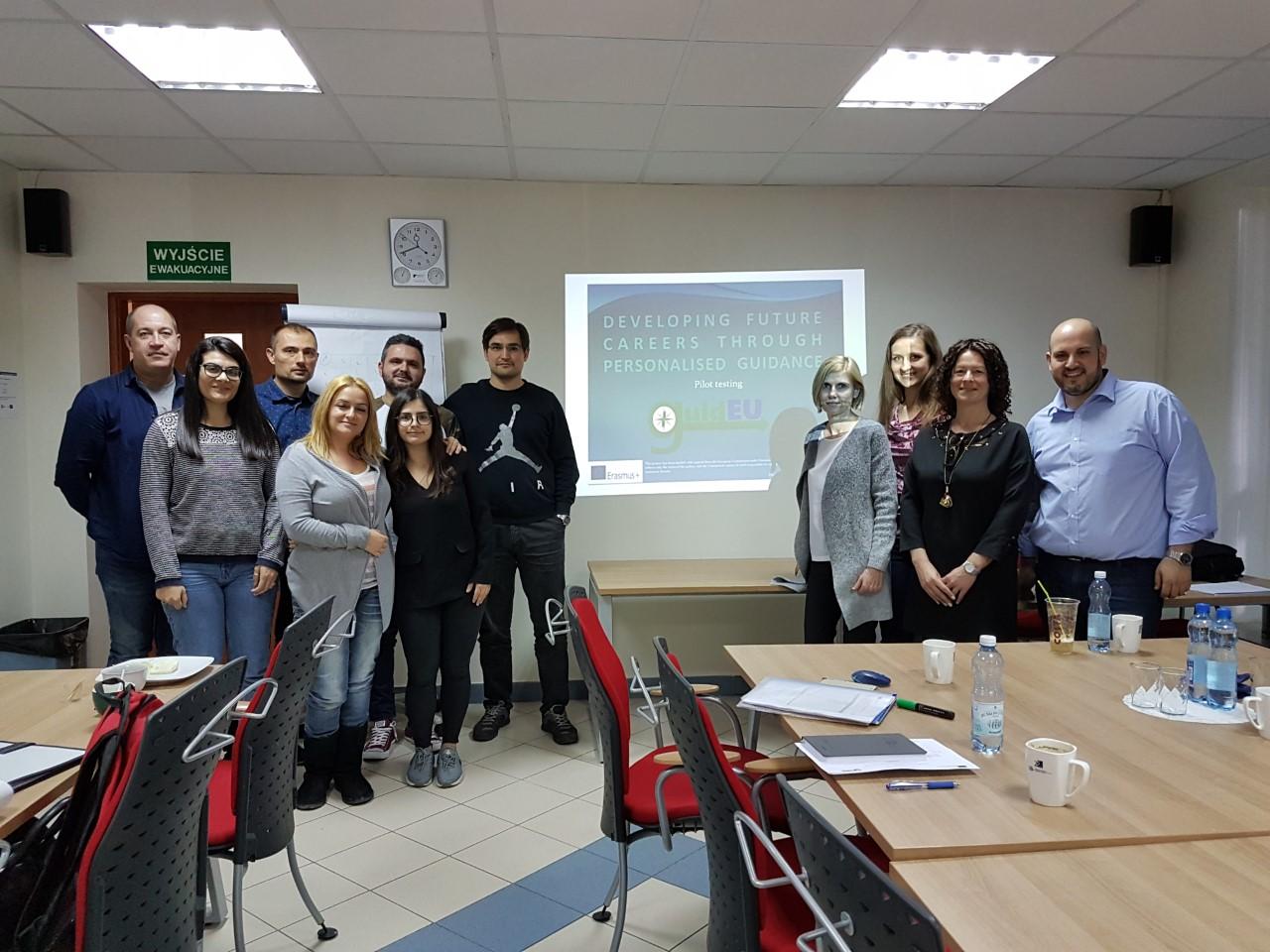 "Atocha viaja a Polonia para continuar su proyecto ""guidEU"""
