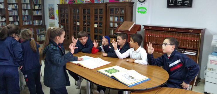 Aprendemos jugando en la Biblioteca