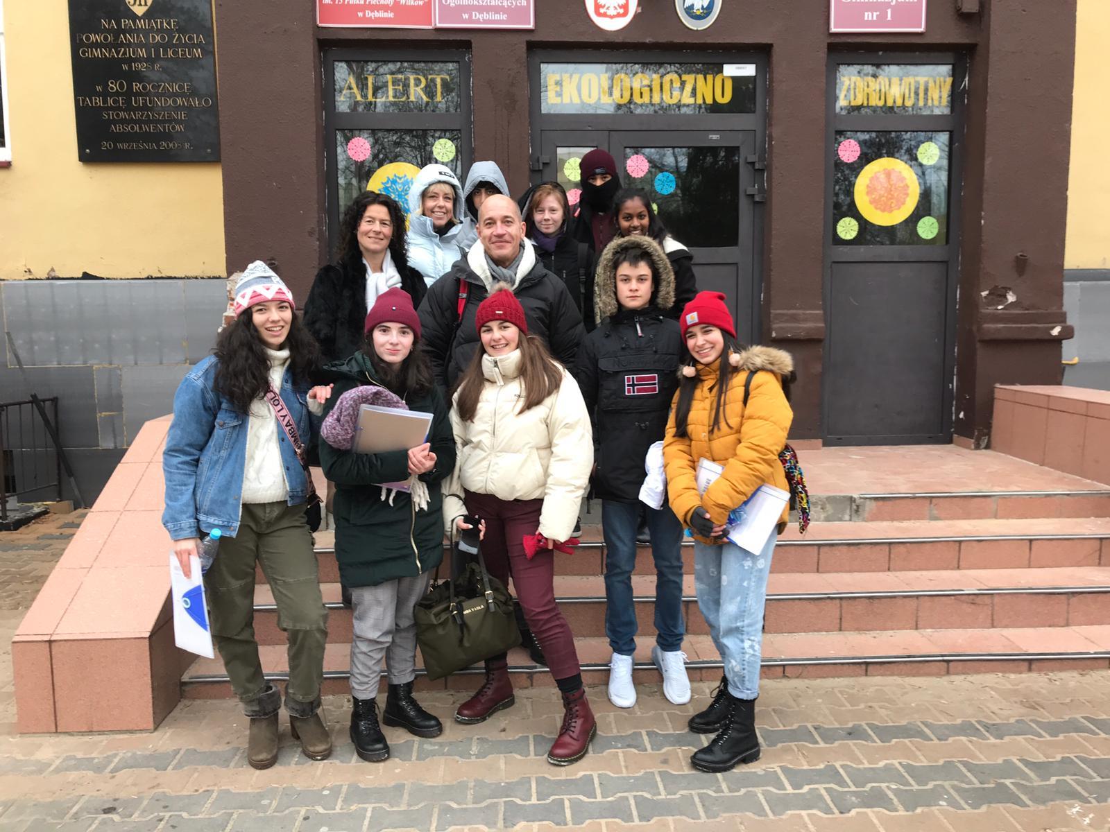 Primeros días de nuestros Erasmus en Polonia