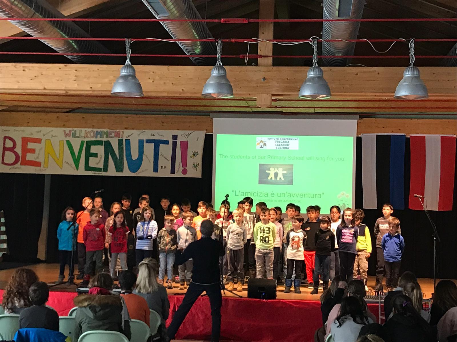 Nuestros alumnos ya están en Italia