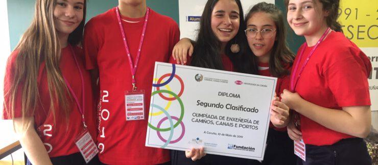 2º clasificado en las Olimpiadas de Ingeniería de Caminos, Canales e Puertos
