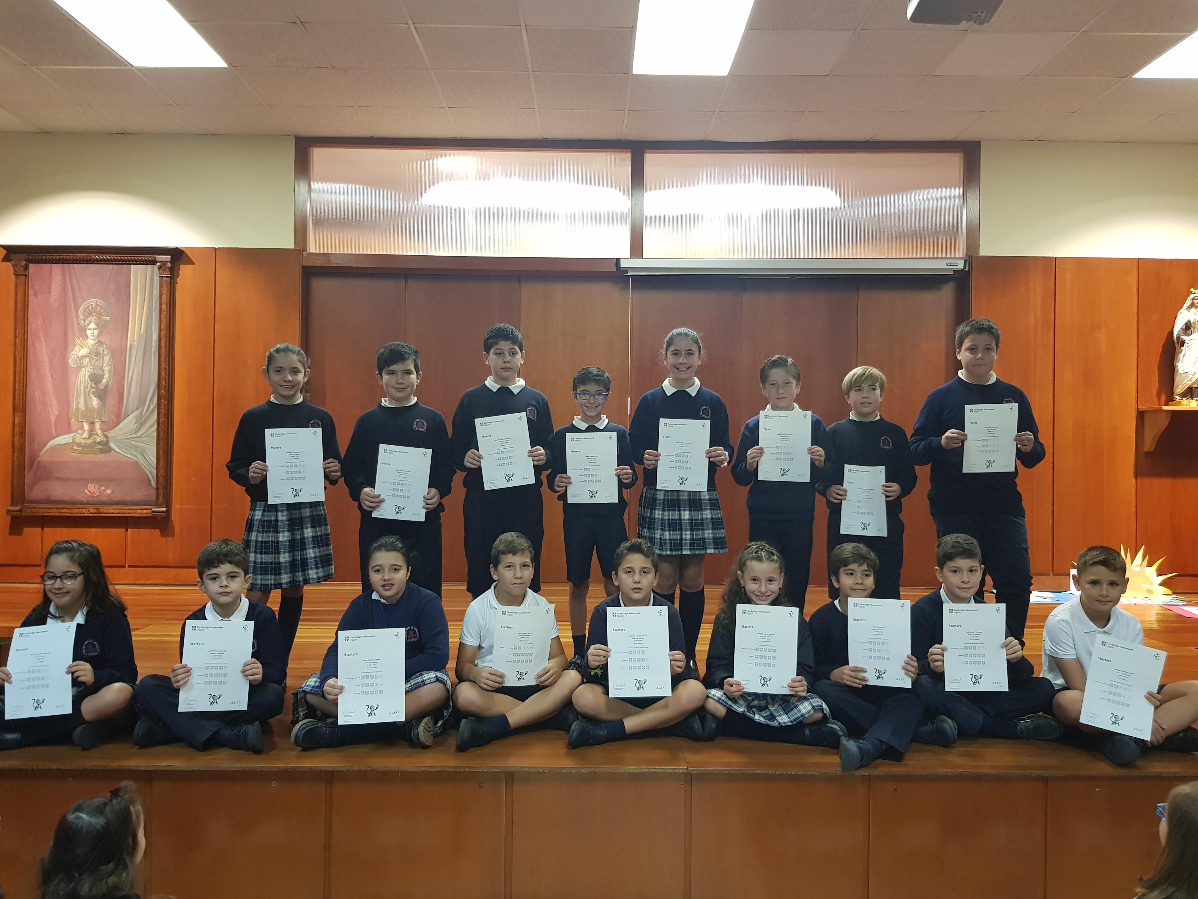 Diplomas Young Learners de Cambridge