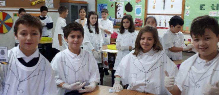 Científicos en acción 5ºEP