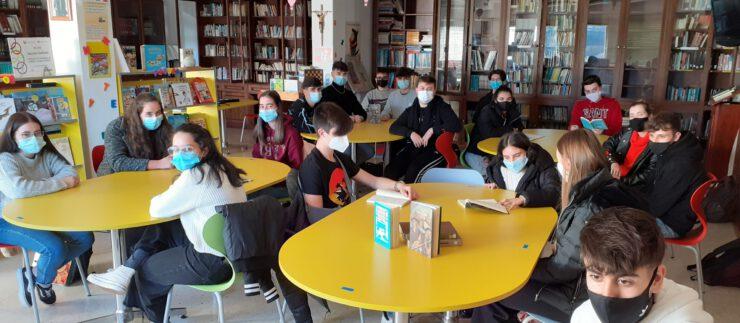 Club de lectura na Biblioteca