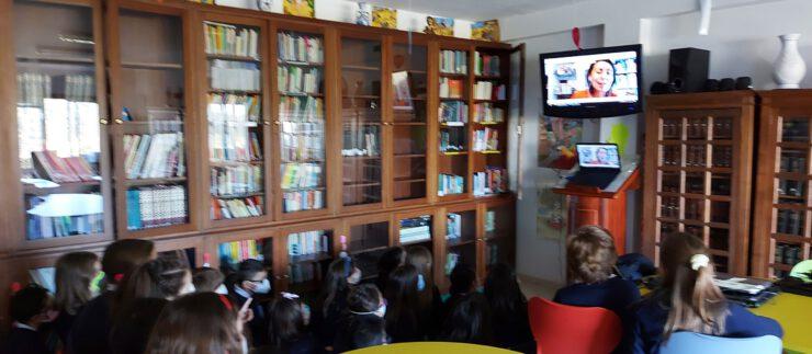 Videoconferencia coa autora Rosa Aneiros