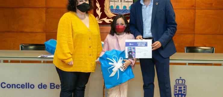 Entrega de premios do Concurso de carteis das Letras Galegas
