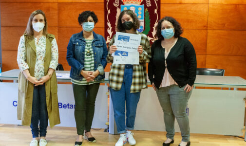 Nerea Rodríguez Penas (1º Bach. ). Accésit no Concurso de Creación Literaria do Concello de Betanzos