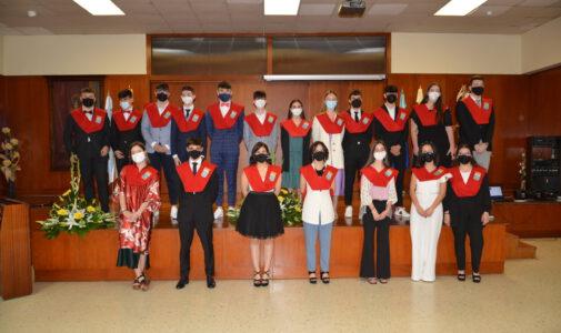 Graduación 2º BAC 2021