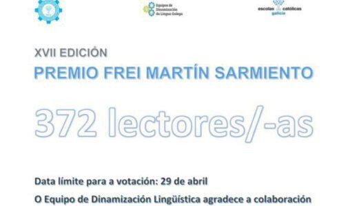 Votación para a XVII edición do Premio Literario Frei Martín Sarmiento
