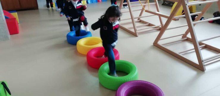 A Psicomotricidade en Infantil
