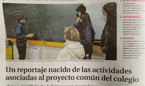 Nuestro cole en La Voz de Galicia