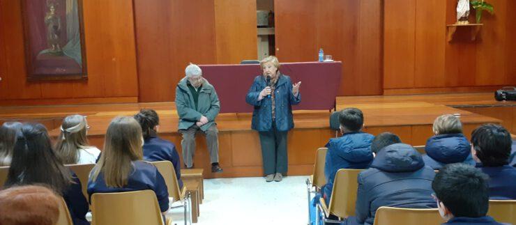 Visita de Pepita e José Manuel – Un futuro sostible