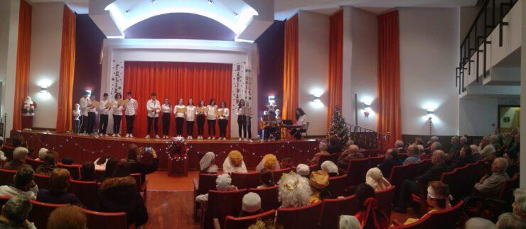 Festival de Navidad en la Residencia Hermanos García Naveira
